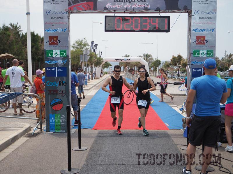 triatlon por parejas