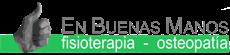 Fisioterapia y Osteopatía En Buenas Manos. Almería Logo