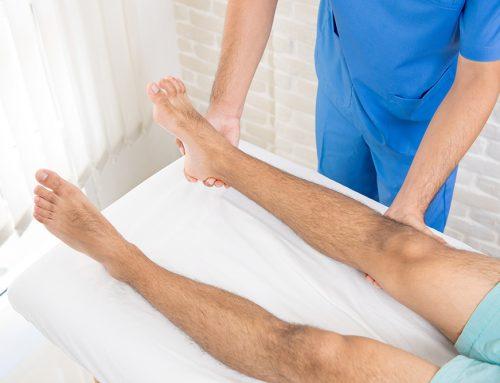 Cómo tratar un esguince de tobillo en una clínica de fisioterapia en Almería